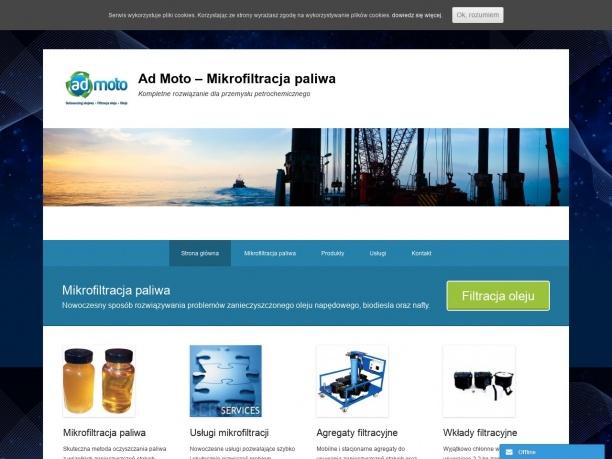 Ad Moto Mikrofiltracja paliwa Usuwanie wody z paliwa