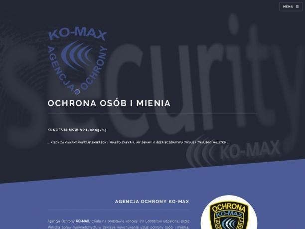 Agencja Ochrony KOMAX