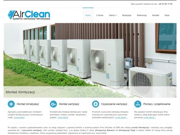 AIRCLEAN Systemy klimatyzacji i wentylacji