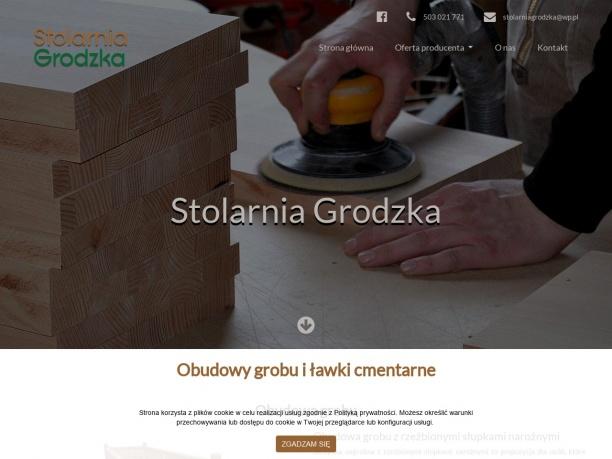 Akcesoria cmentarne Stolarnia Grodzka