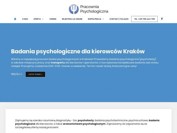 Badania psychologiczne psychotesty