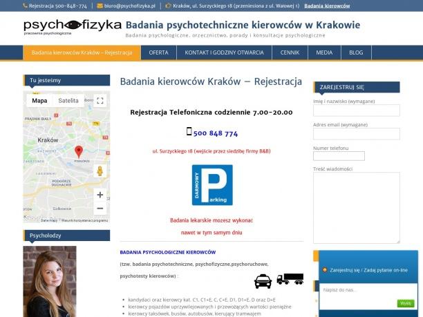 Badania psychotechniczne na kierowce