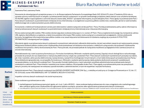 Biuro Rachunkowe i Prawne BIZNES EKSPERT