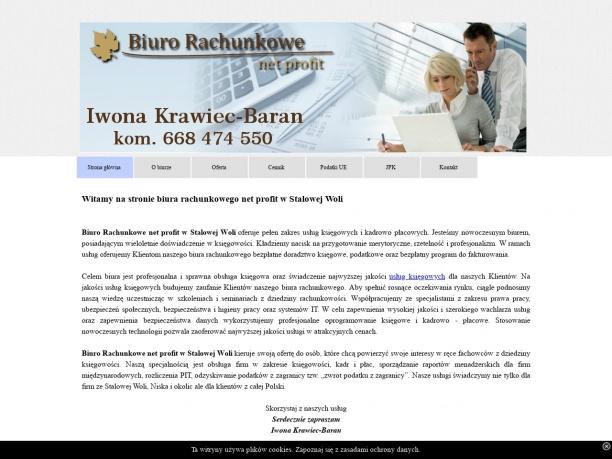 Biuro Rachunkowe net profit Stalowa Wola