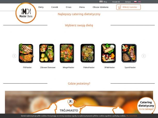 Catering dietetyczny Masterdieta