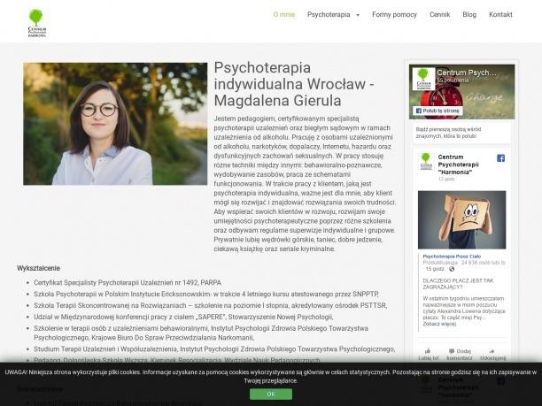 Centrum Psychoterapii Harmonia Magdalena Gierula