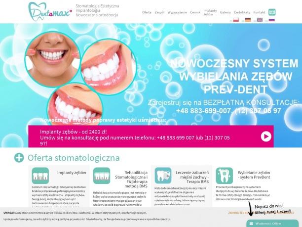 Dentamax Dentysta w Krakowie