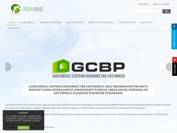 Dom zeroenergetyczny GREEN HOUSE