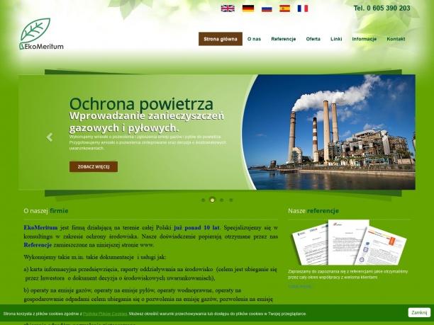 doradztwo tworzenie operatów środowiskowych i inne