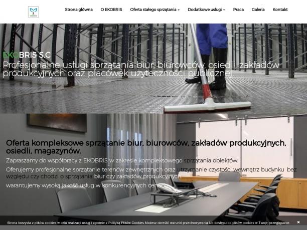 Ekobris Sprzątanie biur Warszawa