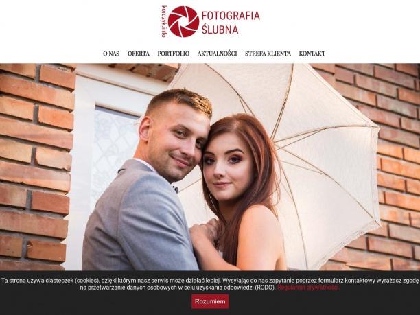 Fotograf ślubny Bielsko Biała Mateusz Korczyk