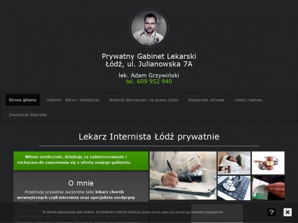 Gabinet Lekarski Adam Grzywiński