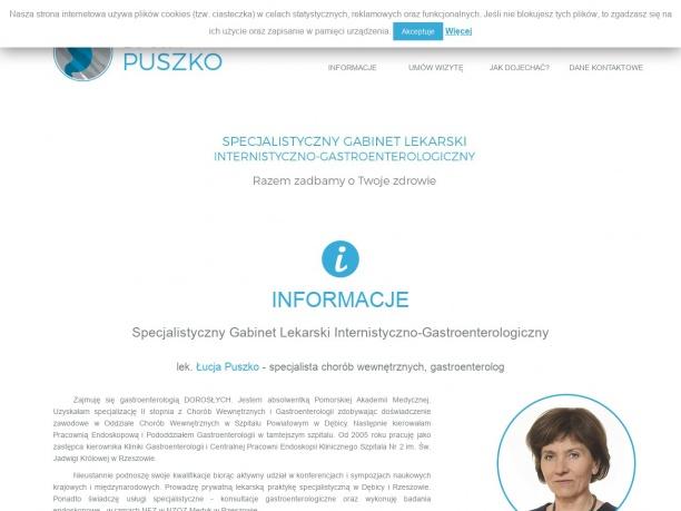 Gastrolog Łucja Puszko