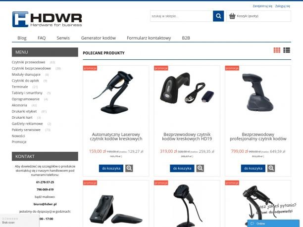 HDWR Sprzęt dla biznesu