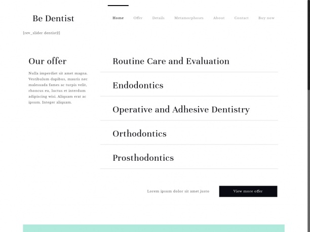 Informacje stomatologiczne