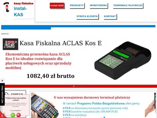 instal KAS Kasy Fiskalne Bielsko Żywiec Pszczyna Czechowice Cieszyn