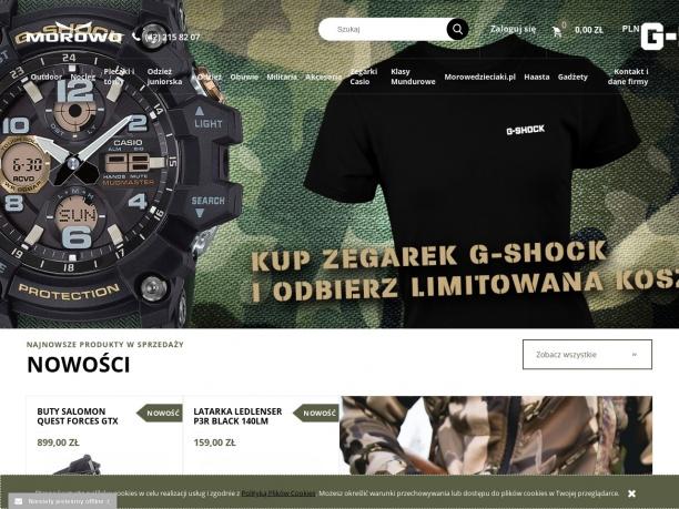 Internetowy sklep militarny Morowo