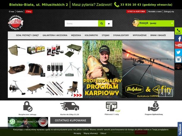 Internetowy sklep wędkarski CARPMIX Bielsko Biała