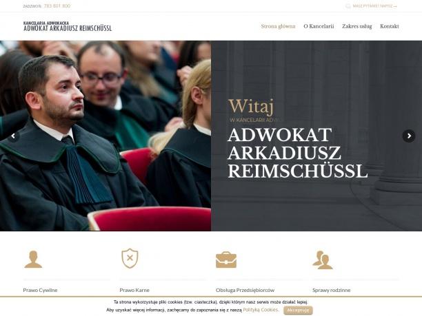 Kancelaria Adwokacka adwokat Arkadiusz Reimschussl
