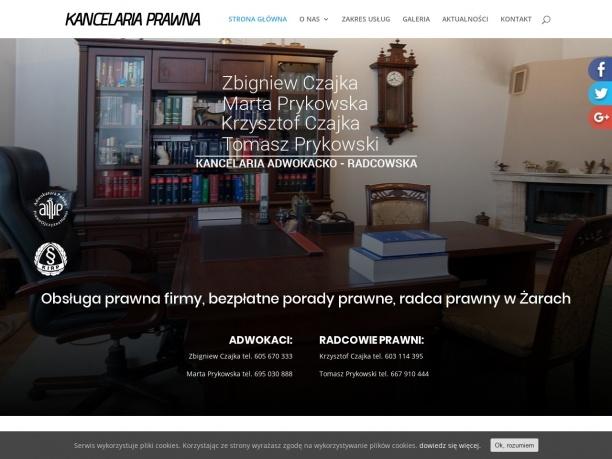 Kancelaria prawna Żary Zielona Góra Legnica Bolesławiec Nowa Sól