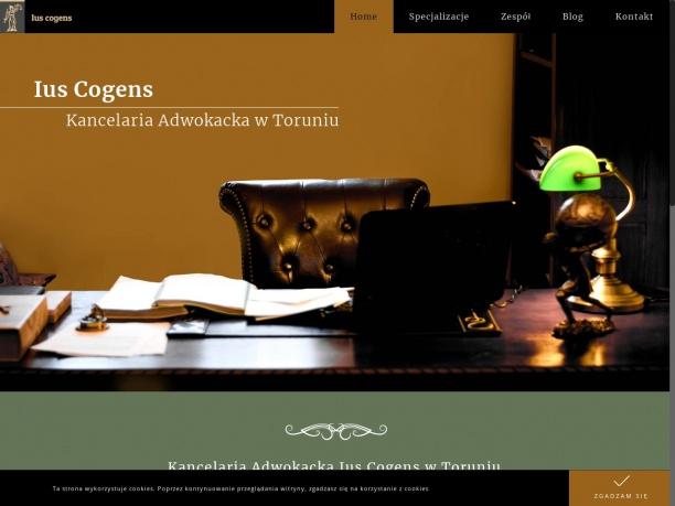 Kancelaria prawna Toruń