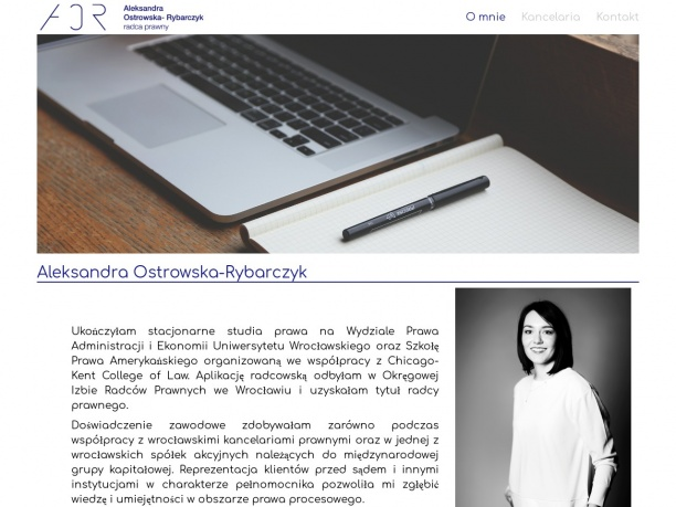 Kancelaria Radcy Prawnego Aleksandra Ostrowska Rybarczyk