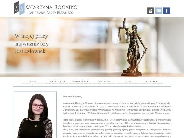 Kancelaria Radcy Prawnego Katarzyna Bogatko