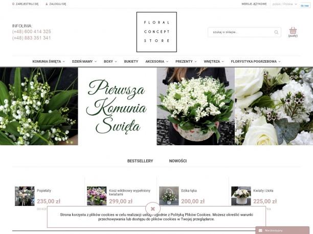 Kwiaciarnia internetowa Floral Concept Store