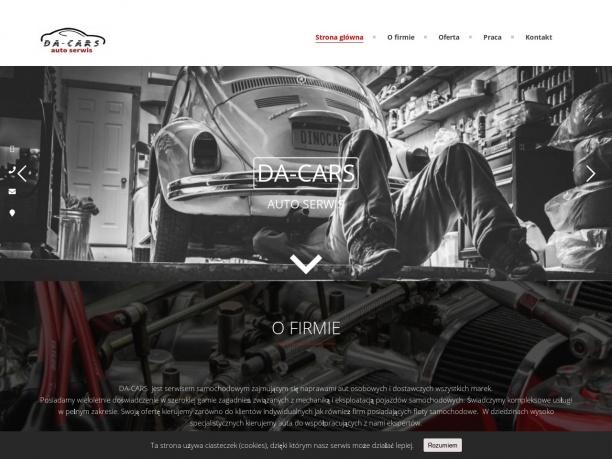 Mechanik samochodowy DA CARS