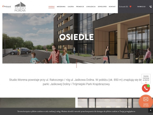 Mieszkania na osiedlu Studio Morena w Gdańsku