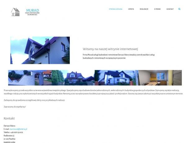 Murad usługi budowlane i remontowe