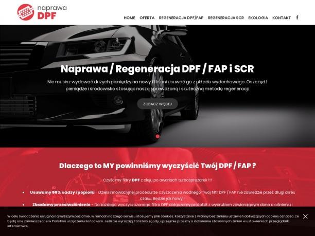 Naprawa Regeneracja DPF FAP i SCR