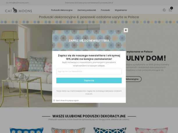 Nowoczesne i klasyczne poduszki dekoracyjne zaprojektowane i wyprodukowane w Polsce
