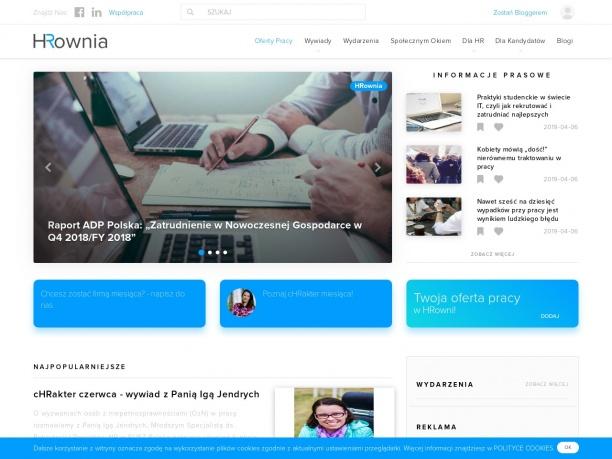 Nowoczesny portal HR