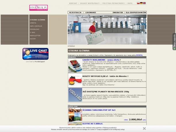 OTODRUK profesjonalna drukarnia online