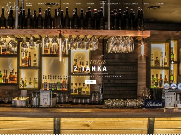Pianka z Tanka całodobowa restauracja w Warszawie