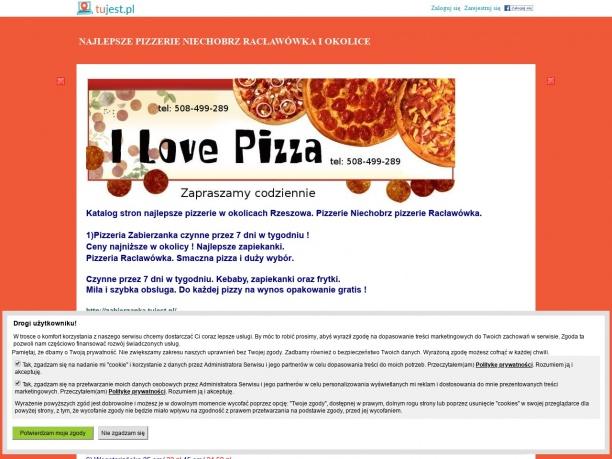 Pizzeria Zabierzanka Racławówka Najlepsza włoska pizza