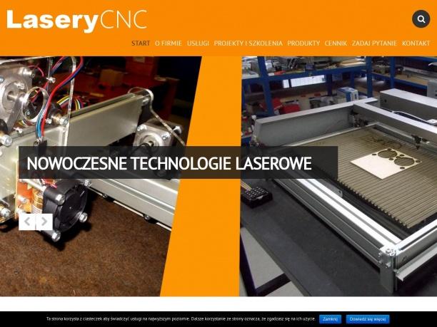 Plotery laserowe CNC i lasery diodowe