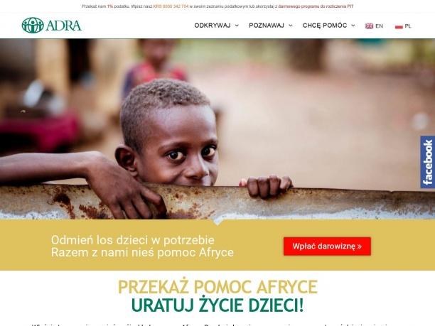 Pomoc dzieciom w Afryce