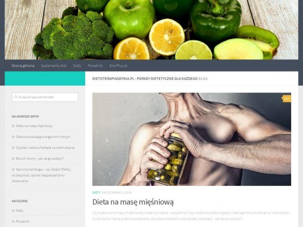 Poradnia dietetyczna Dietoterapia w Gdyni