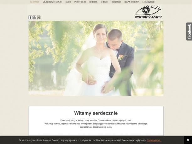 Portrety Anety fotografia ślubna w Gorzowie i lubuskim