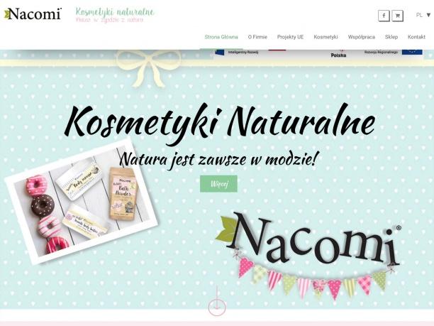 Producent kosmetyków naturalnych Nacomi