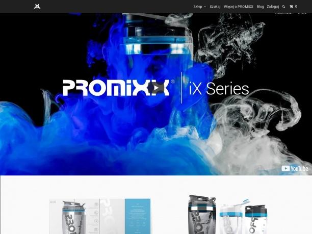 PROMiXX unikalny shaker do odżywek