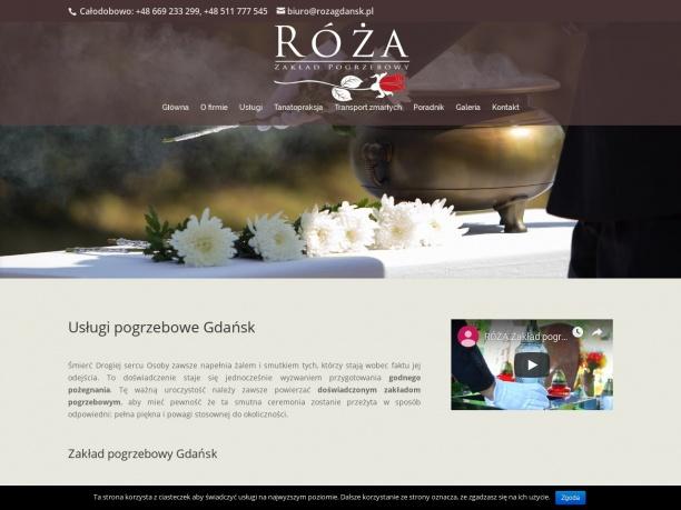 RÓŻA Usługi Pogrzebowe Gdańsk