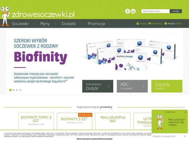 Sklep Internetowy Zdrowe Soczewki