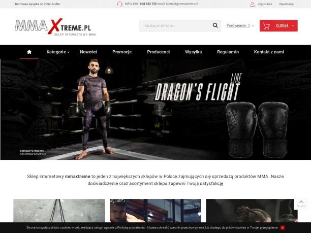 Sklep z akcesoriami i odzieża do sportów walki Streetwear Fightwear