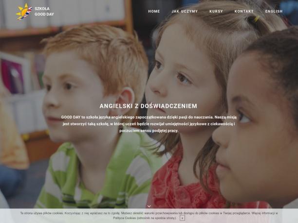 Szkoła Good Day Bydgoszcz Angielski z doświadczeniem