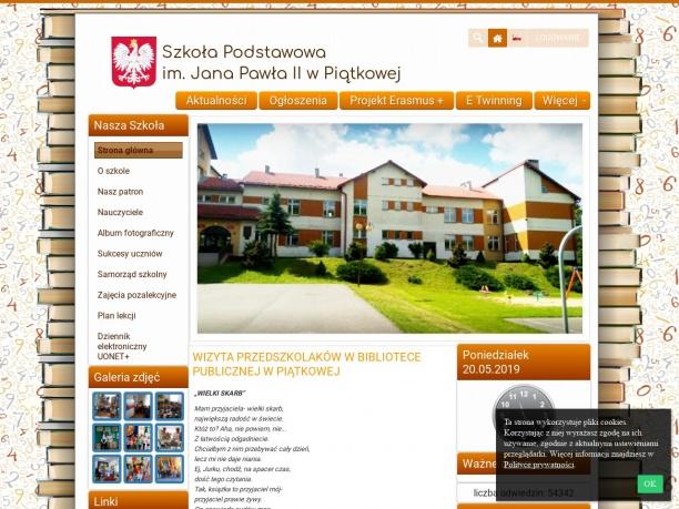 Szkoła Podstawowa im Jana Pawła II w Piątkowej
