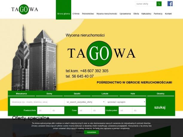 TAGOWA pośrednictwo w obrocie nieruchomościami
