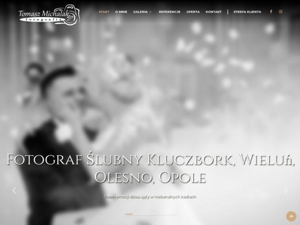 Tomasz Michalak zawodowy fotograf działający na terenie Kluczborka i okolic